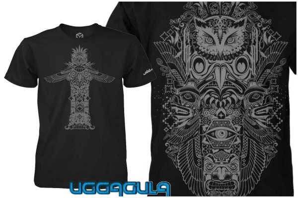 T-Shirt ASCENSION TOTEM black