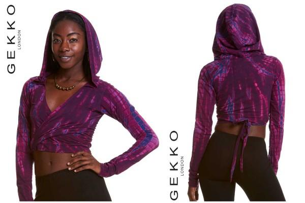 Wickeltop Kimo violett