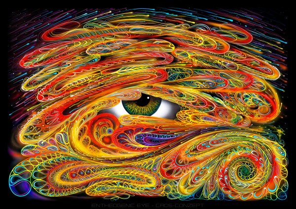 Backdrop Entheogenic Eye UV