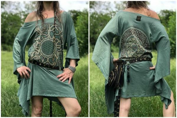 Kleid Mandala ozean