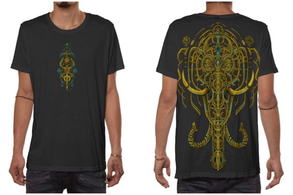 T-Shirt KANDULA dunkelgrau