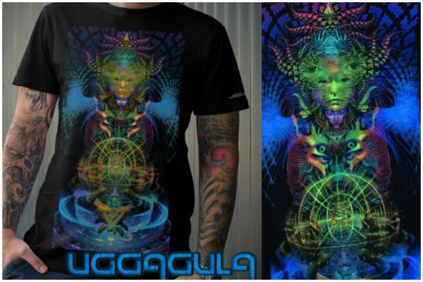 T-Shirt SPECTRA LUMO schwarz