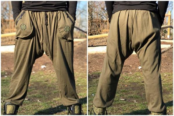 Baggy Pant lang olive