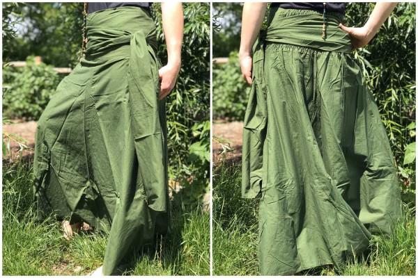 Rock / Kleid 2in1 Gypsy Style olive