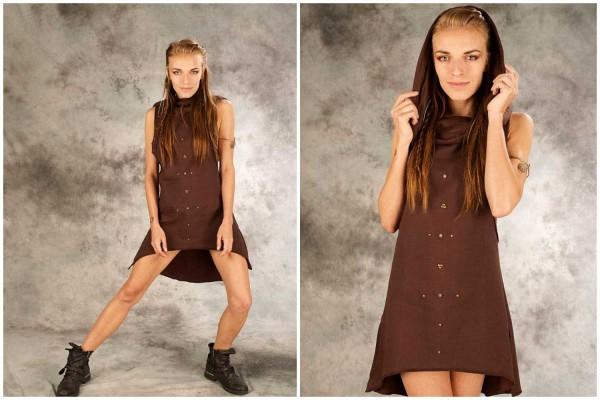 Kleid ✳ Kappi braun