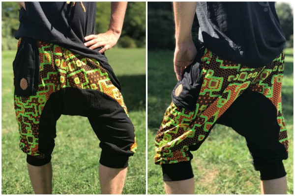 3/4 Baggy Pant Flash uv