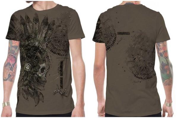 T-Shirt Cherokee rock