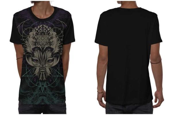 T-Shirt CATSTER schwarz