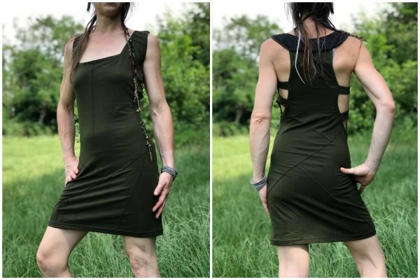 Kleid ✳ Metry olive