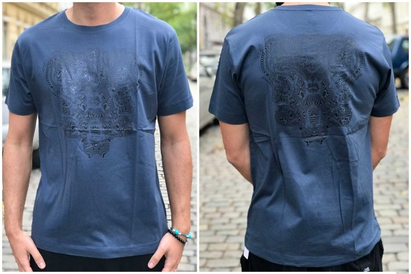 T-Shirt Freqtarie denim