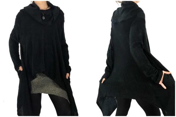Pullover Oversize schwarz