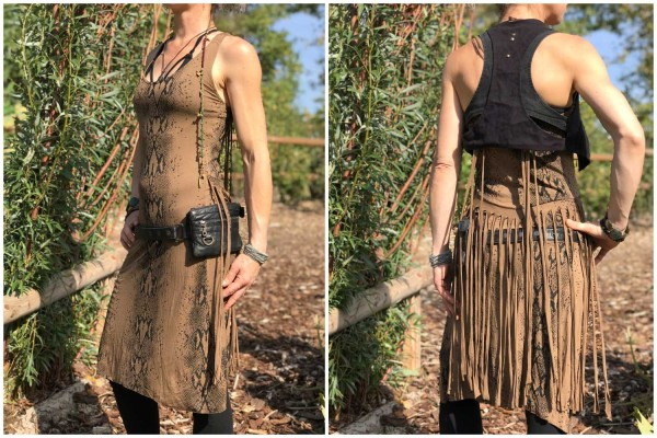 Kleid Fray braun