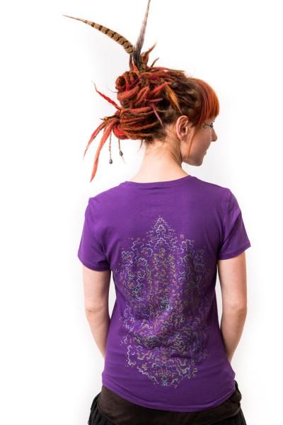 Shirt Dharmapa lila