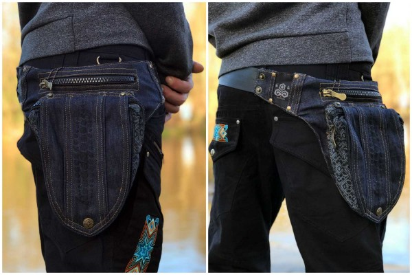 Gürteltasche IP Omega jeans NEW