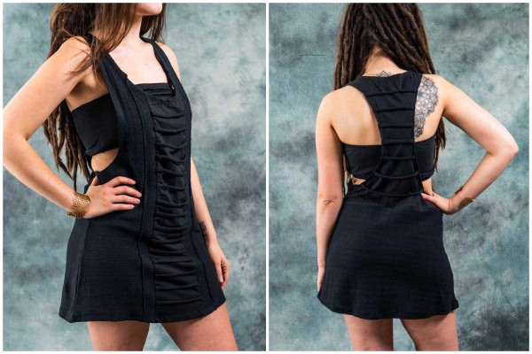 Kleid ✳ Streak schwarz