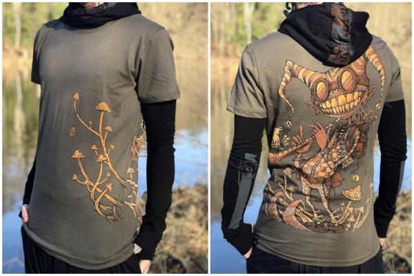 T-Shirt Fiddler olive