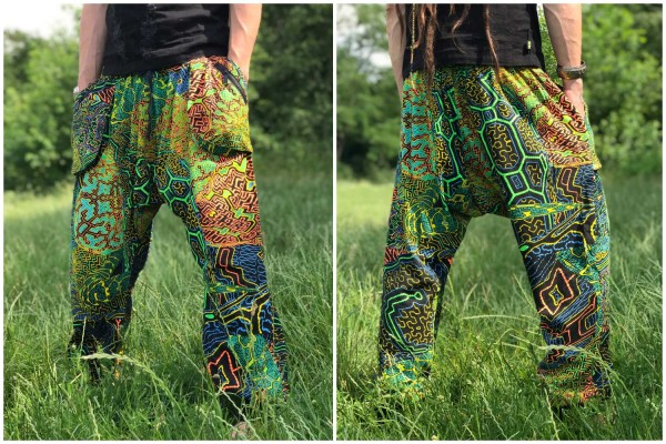 Baggy Pant lang Ayahuasca uv