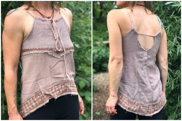 Top Indian Style alt rosa