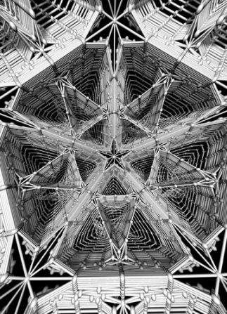 Hologramm Bild groß META MATRIX