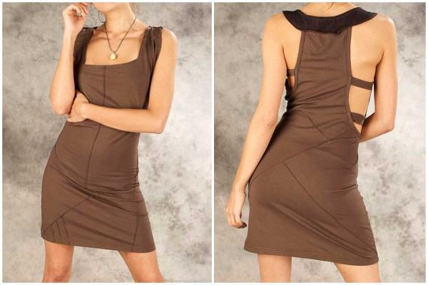 Kleid ✳ Metry braun