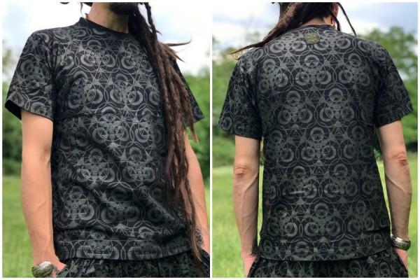 T-Shirt Geometrix schwarz