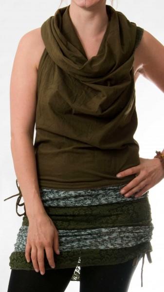 Kleid Ruff olive