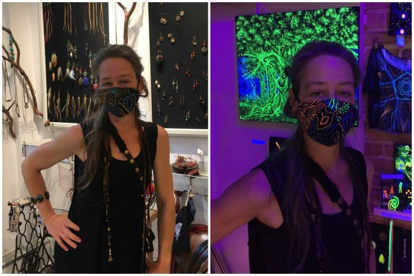 Mund-Nase-Maske Aya UV