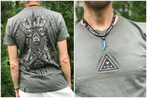 T-Shirt FOREST STONE Plazmalab Streewear Psywear uv aktiv