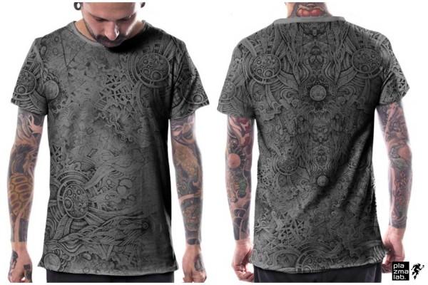 T-Shirt Overtones grau