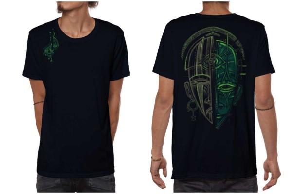 T-Shirt DAYNIGHT dunkelblau