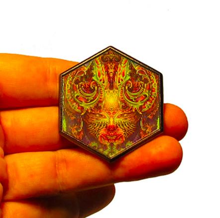 Hologramm Anstecker TRI-VISIONS