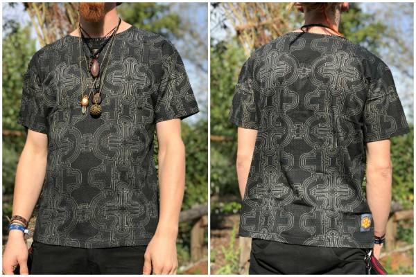 T-Shirt Atztetik grau