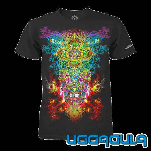 T-Shirt KAPALLAVAJRA black
