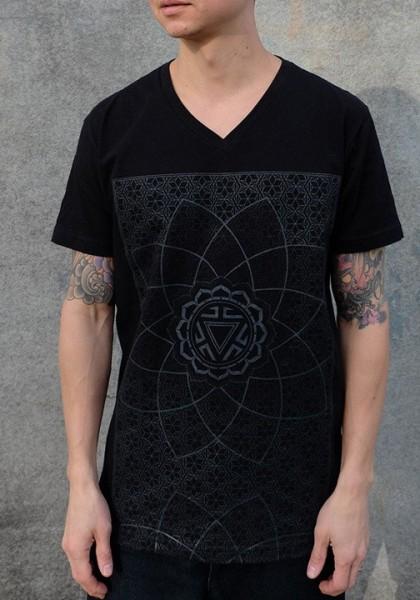 T-Shirt Vitality schwarz