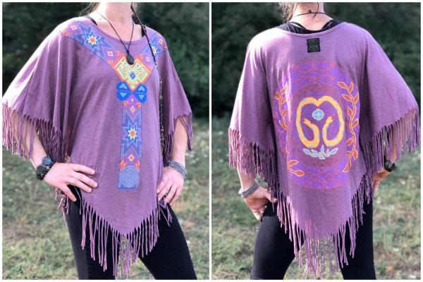 Poncho Spirit lila