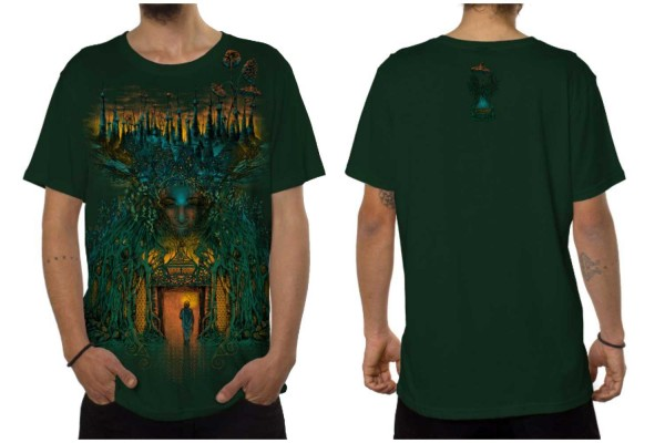 T-Shirt INNER FOREST jungle grün