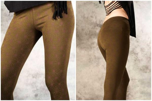 Leggings ✳ Stjörnu olive