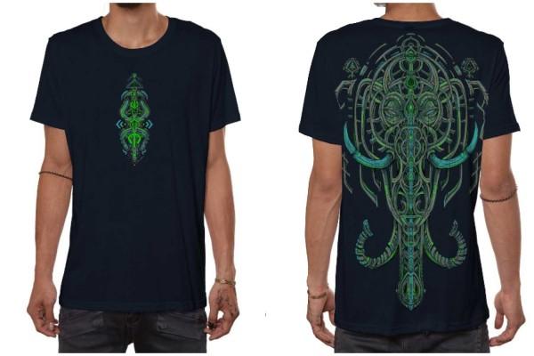 T-Shirt KANDULA dunkelblau