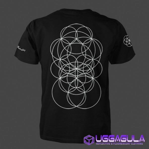 T-Shirt CROP CIRCLES N°13 black
