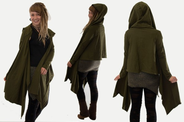 Wickeljacke Fly olive