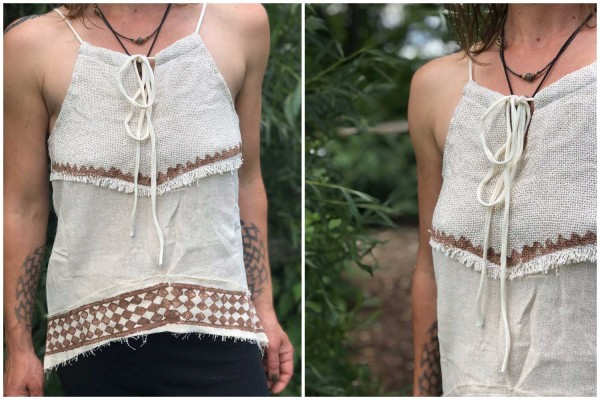 Top Indian Style off white