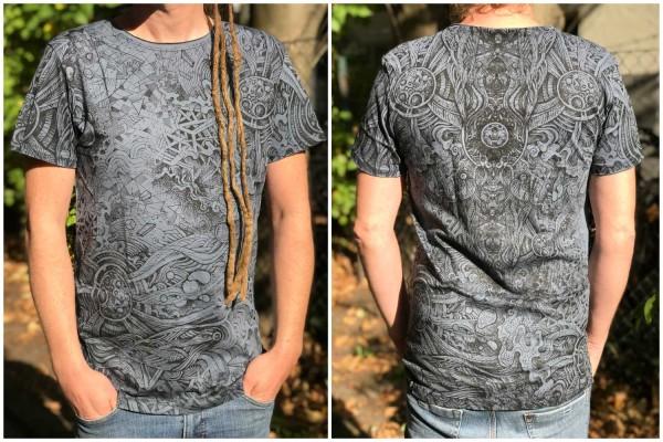 T-Shirt Overtones blau