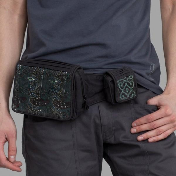 Belt Bag 4th Dimension schwarz