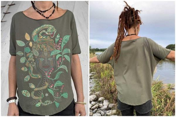 T-Shirt Women AYA khaki