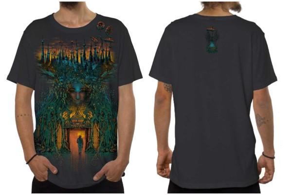 T-Shirt INNER FOREST dunkelgrau