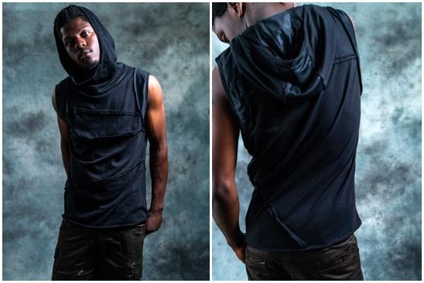 Sleeveless Bedouin schwarz