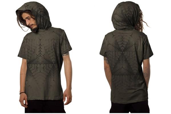 T-Shirt TANSO STONE Plazmalab Streewear Psywear uv aktiv