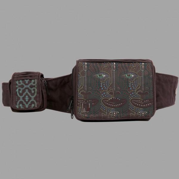 Belt Bag 4th Dimension braun