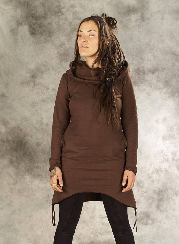 Kleid Runa braun   Marandai