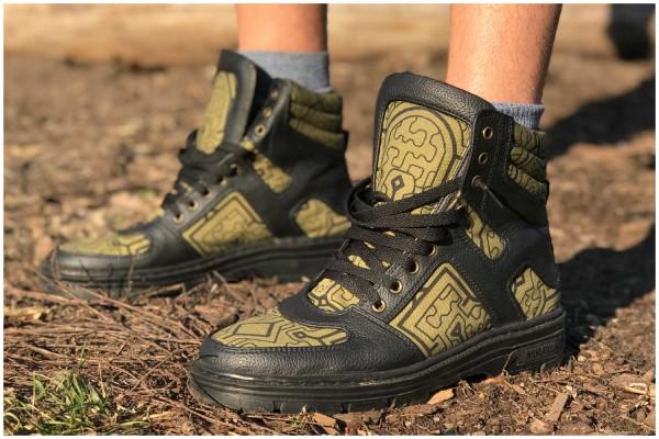Schuhe Shipibo olive